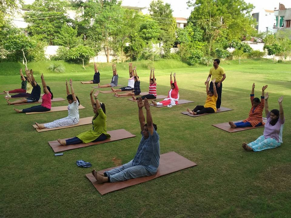 Yoga Retreat in Group